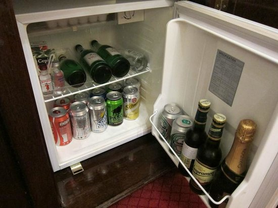 Alvear Palace Hotel:                                     mini bar