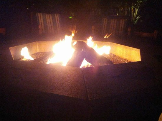 Pavilion Hotel:                   The Fire Pit