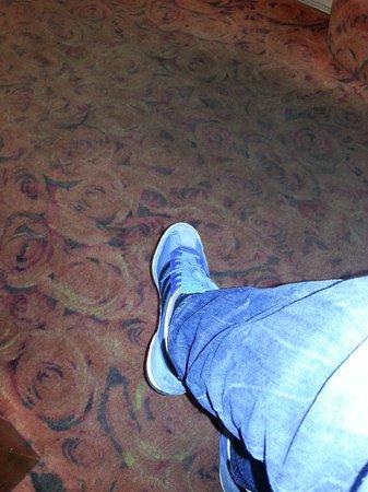 Hotel La Gioconda:                   la moquette