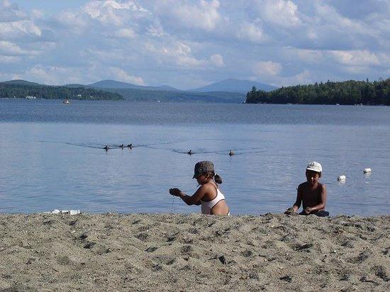 Auberge et Chalets sur le Lac: Baie des sable