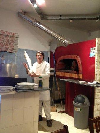 Pizzeria Di Fiore:                   zoals het moet