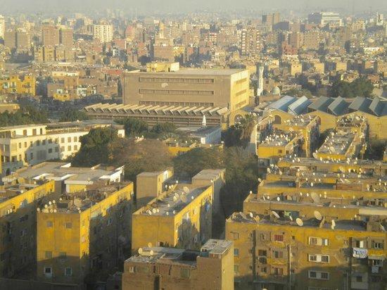 فيرمونت القاهرة، نايل سيتي:                   Panorama dalla camera (no vista fiume Nilo)                 