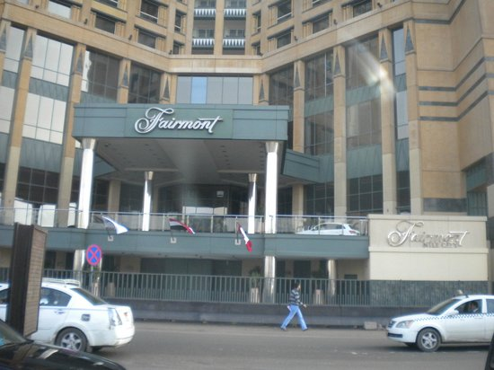 Fairmont Nile City:                   Ingresso