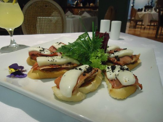 Regal Pacific Hotel:                   Um lanche especial