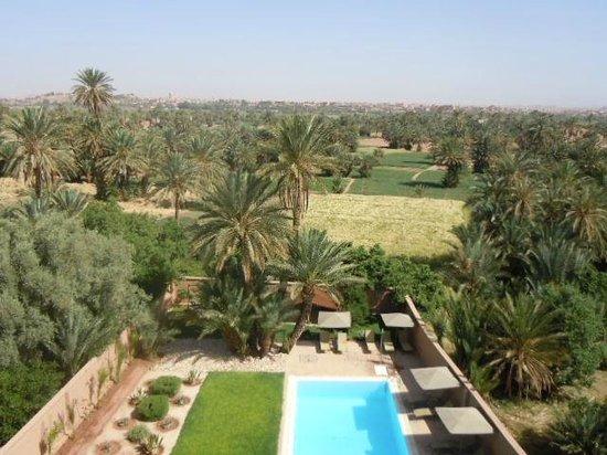 Dar Chamaa: Vista desde la habitación