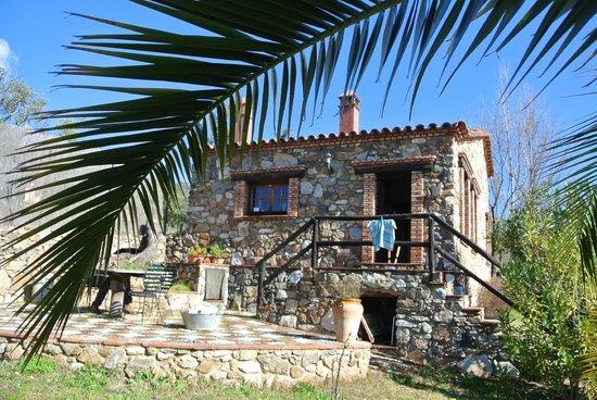 Molino Rio Alajar:                   ons huisje