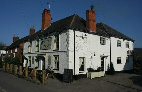 The Two Brewers :                                     Refurbished exterior to the pub