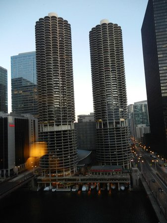 Renaissance Chicago Hotel:                                     Vista desde el piso 21