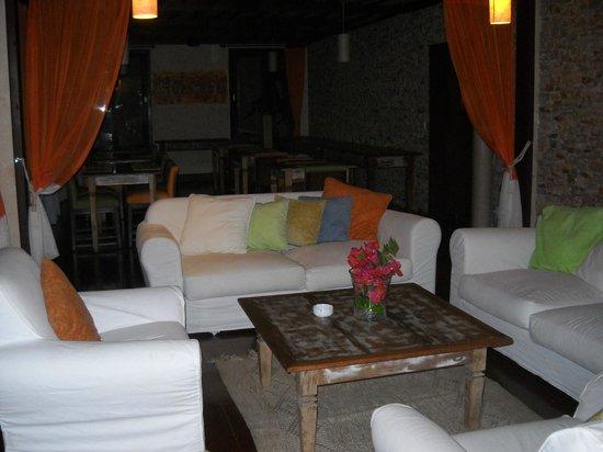 Pousada OKA da MATA :                   Sala de estar en la terraza