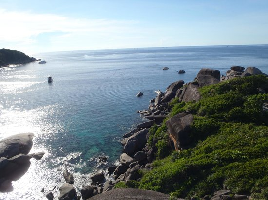 West Coast Divers: View from Sail Rock in the Similians