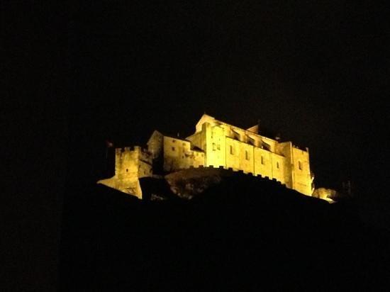 Hotel Du Rhone:                   Aussicht vom Zimmer 405