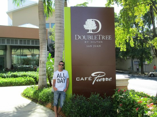 Doubletree by Hilton San Juan:                   vista