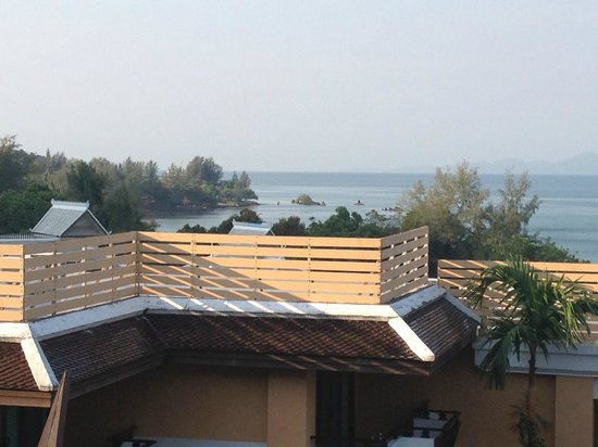 Amari Vogue Krabi:                   View from our room across the Andaman Sea