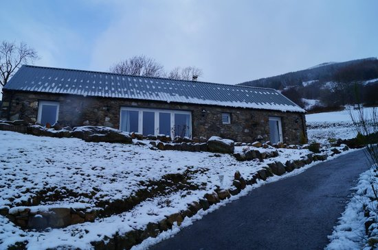 Briar Cottages:                                     Briar Steading in the Snow