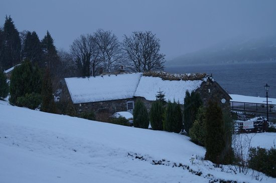 Briar Cottages:                                     View in the snow
