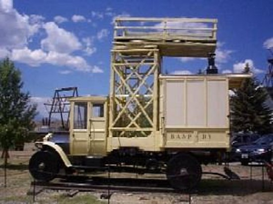 World Museum of Mining: Rail Car