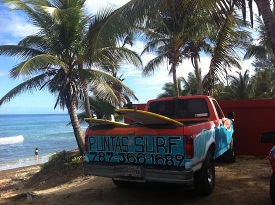 Puntas Surf School:                                     Parking Lots