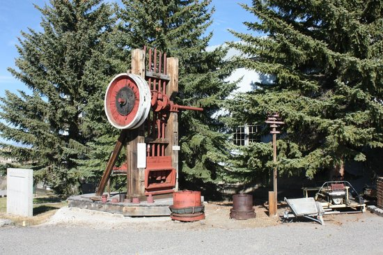 World Museum of Mining: Stamp Mill