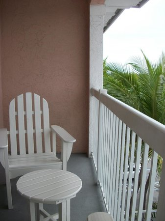 ‪‪DoubleTree by Hilton Hotel Grand Key Resort - Key West‬: Our balcony‬