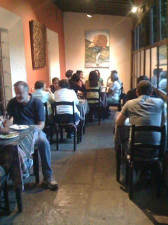 Cafe Condesa: The first dining area with free internet!