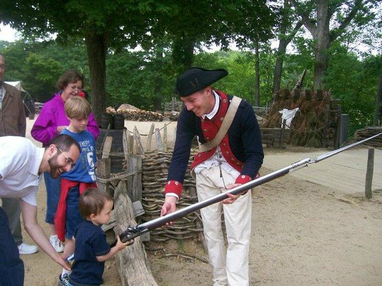 American Revolution Museum at Yorktown:                   Yorktown