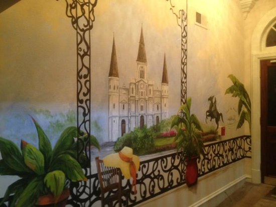 Chateau Orleans:                   New painting in front lobby