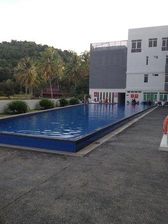 Pacific Regency Hotel Suites:                   pool