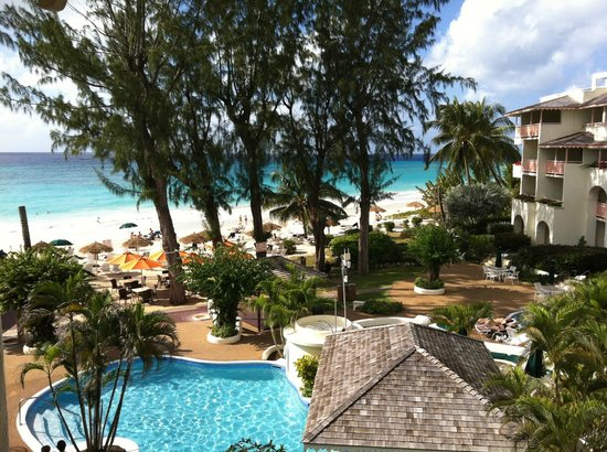 Bougainvillea Beach Resort:                                     view from the room