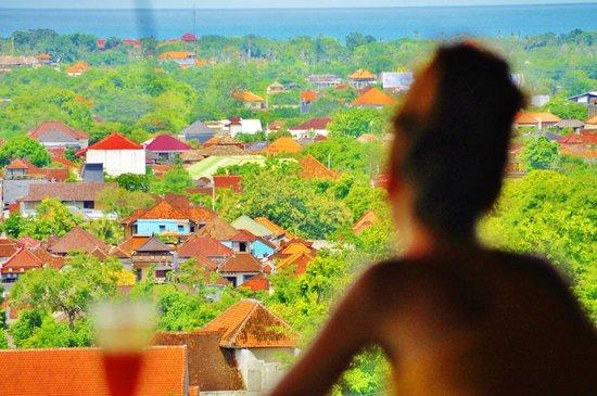 โรงแรมจิมบารันคลิฟไพรเวท & สปา:                                                       beautiful view for breakfast