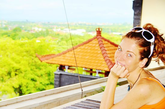 Jimbaran Cliffs Private Hotel & Spa:                                                       breakfast with views