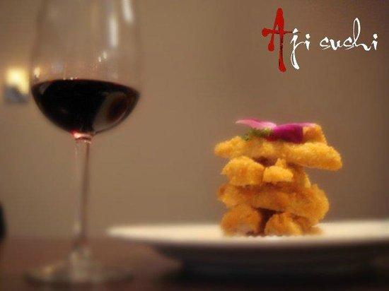 Aji Sushi: Golden dish