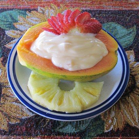 Lilikoi Inn:                   petit dejeuner