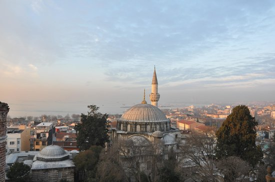 Ada Hotel Istanbul:                   view from terrace