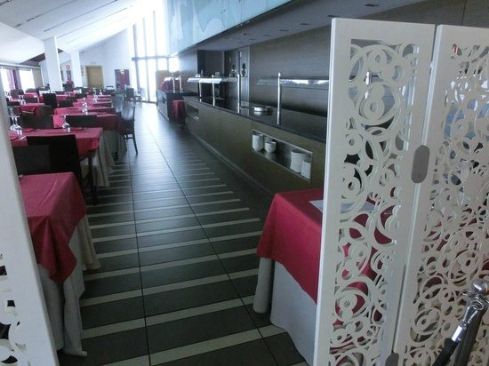 Hotel Galanthus & Spa:                   Entrada al bufet