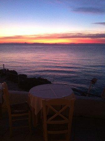 Panorama: Δύση Ηλιου απο το μπαλκόνι μας