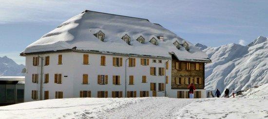 Hotel Belalp, January 2013