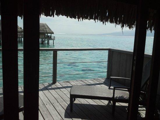 Sofitel Moorea Ia Ora Beach Resort : View from room.