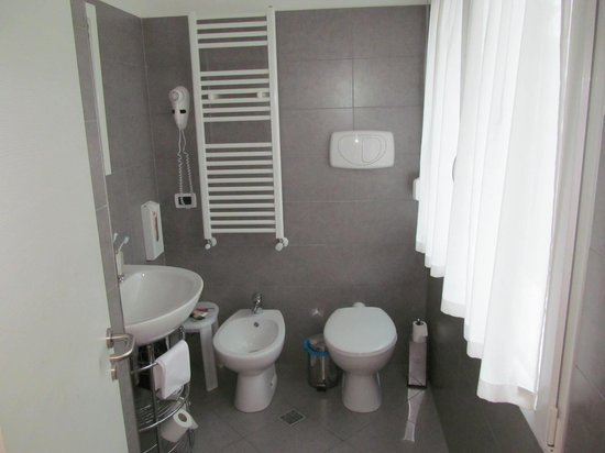 Hotel La Pergola di Venezia:                   The bathroom with bidet