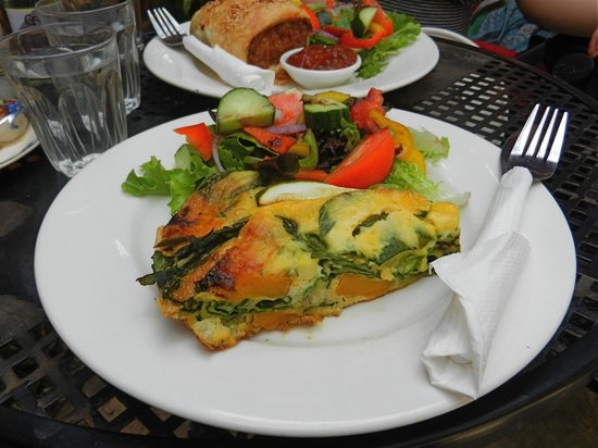 Bacchus Marsh, Australia:                   Baked Pumpkin and spinach frittata