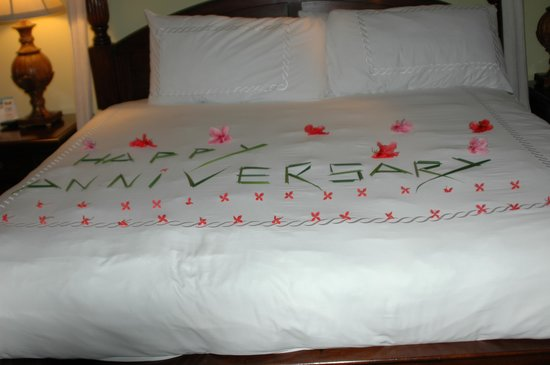 Sandals Royal Caribbean Resort and Private Island:                   Happy anniversary