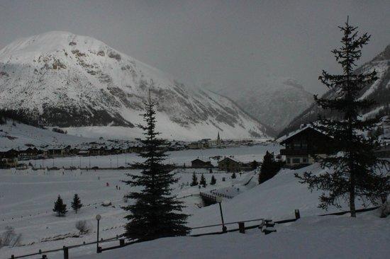 Hotel Bucaneve:                   panorama dalla stanza