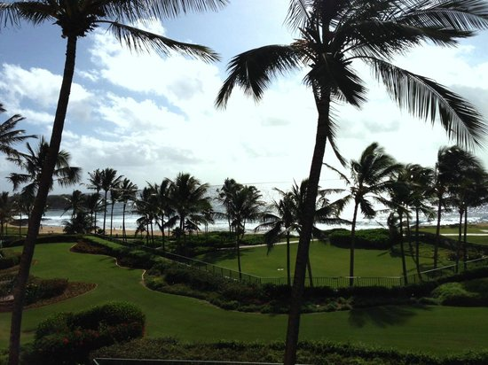Grand Hyatt Kauai Resort and Spa:                   View from room 5007