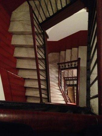 Hostal NITZS BCN:                   stairs...