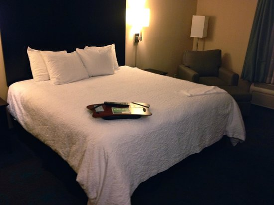 Hampton Inn Bloomington: Bed