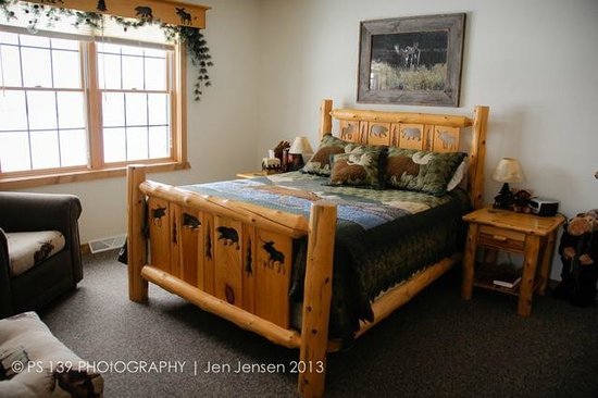 Second Wind Country Inn: The private room in Northern Lights Loft.