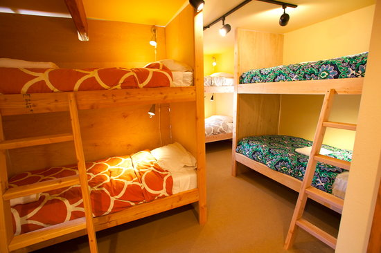 North Cascades Mountain Hostel: The Sawtooth Range Bunk Room