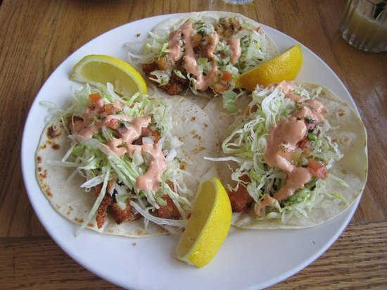 The Beacon Bar & Grill:                   Fish Tacos