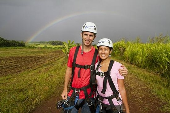 Skyline Eco Adventures - Akaka Falls: Rainbow