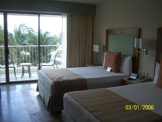 Grand Park Royal Cancun Caribe : chambre deluxe