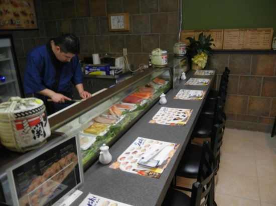 New Zen Japanese Restaurant:                   Sushi Bar